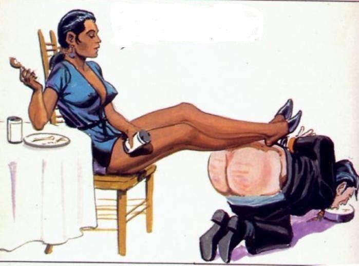 Ebony femdom art