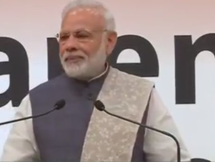 Now, those who left their mother in old age homes, are depositing 2 and a half lakh rupees in her bank account: PM @narendramodi  in #Japan
