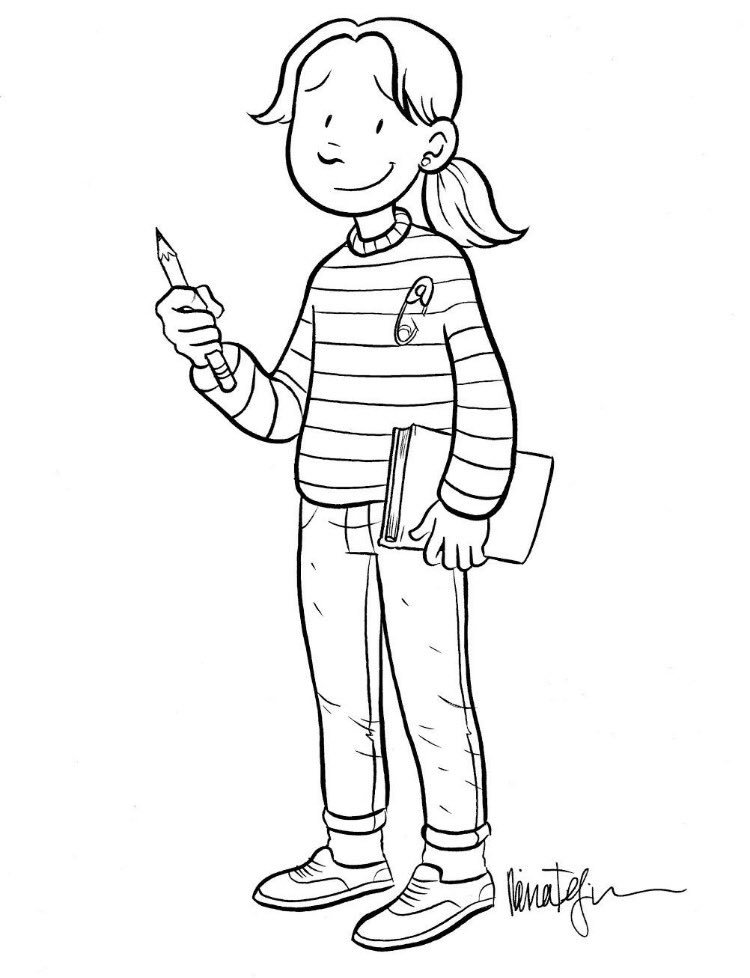 babysitters club coloring pages - photo#2