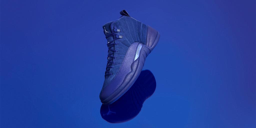 """Air Jordan 12 """"Deep Royal Blue"""