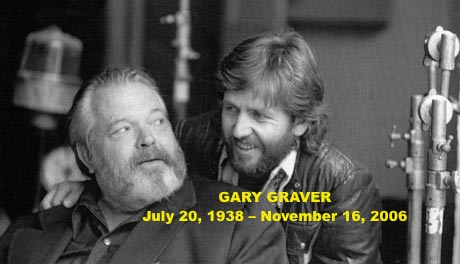 RT @Wellesnetcom Remembering Gary Graver – Orson Welles loyal cinematographer – 10 years after his passing. #orsonwelles @sgraver | https://t.co/p9pgZb4fmJ