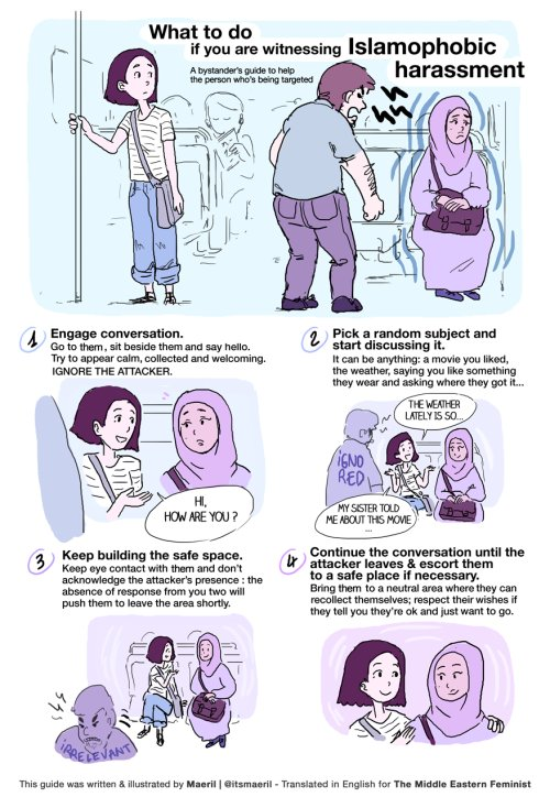 What to do when you see harassment. Works for all kinds. https://t.co/s3mn2eKbV7