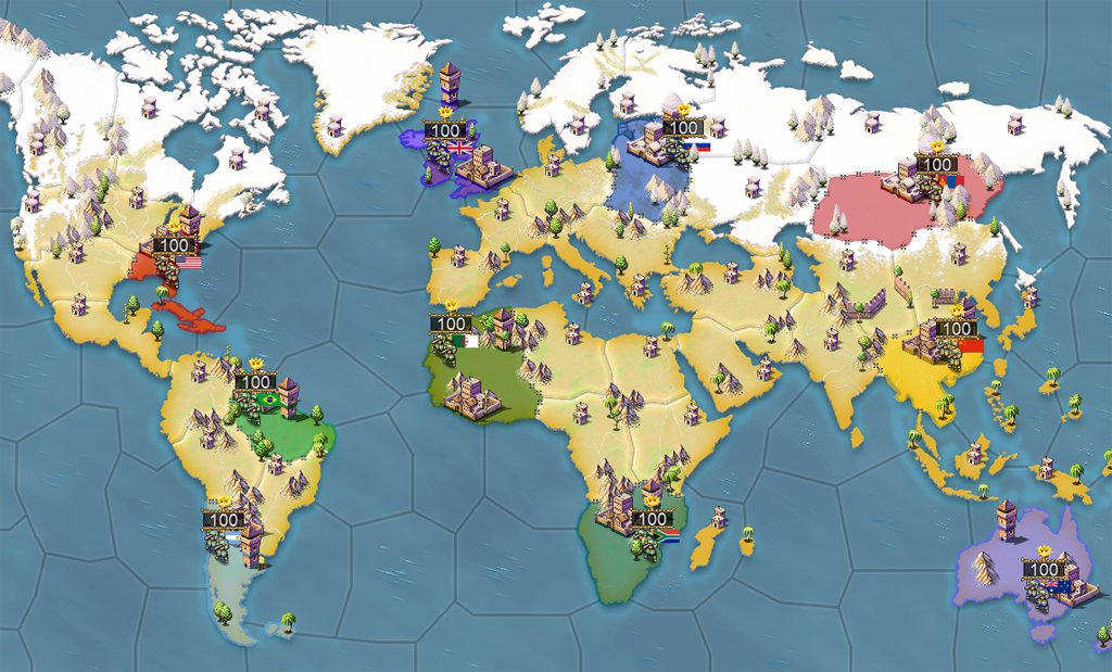 Mini World Map.Noble Master ᴳᵃᵐᵉˢ On Twitter Age Of Conquest Iv Mini World