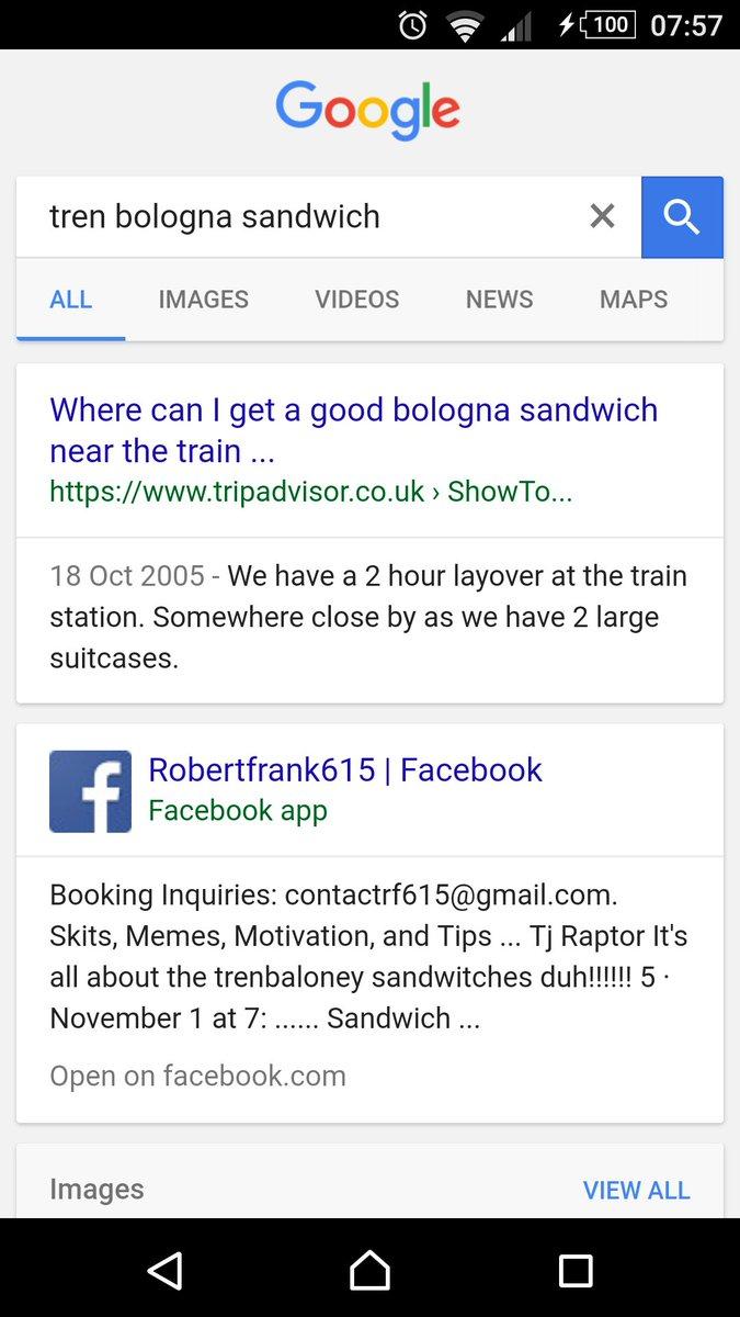 Trenbologna sandwich