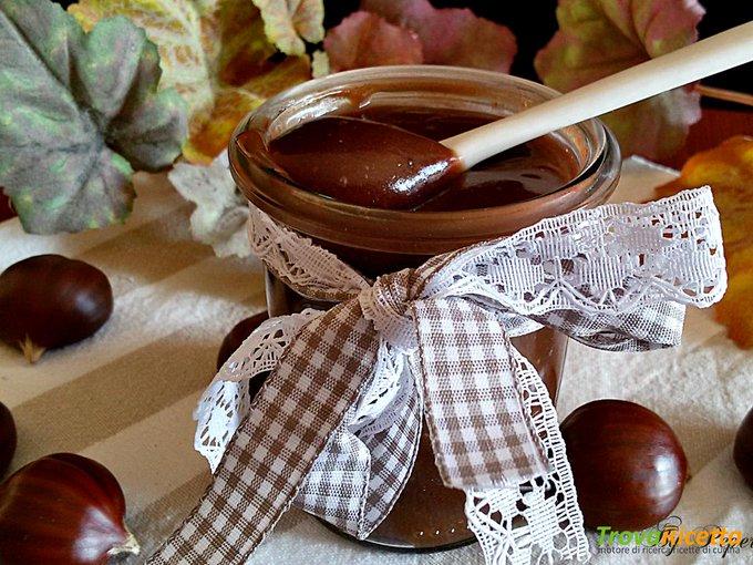 Crema di castagne e cioccolatoRicetta qui: