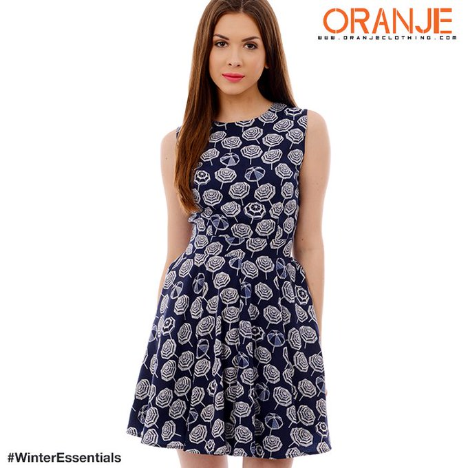 The perfect dress for a perfect evening.OOTD Oranje