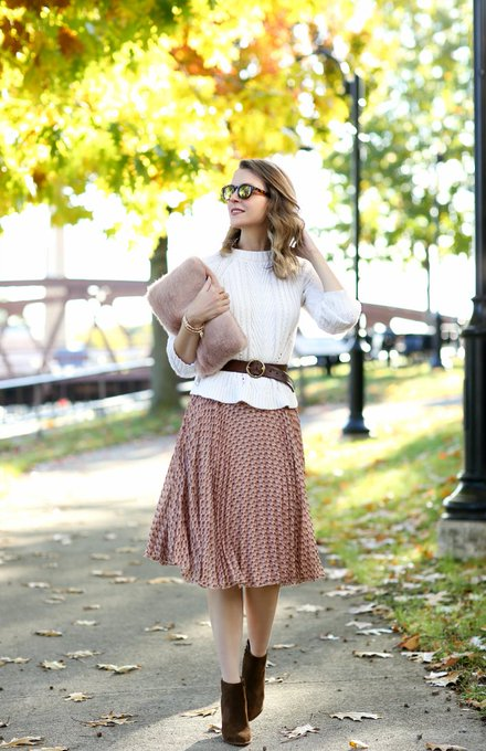 Printed Pleats via Penny Pincher Fashion PPFGirl ootd