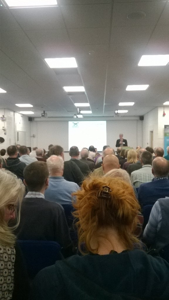Full house for UK Butterfly Monitoring Scheme 40th anniversary symposium. Born in 1976 https://t.co/Eh5SPJRVkh