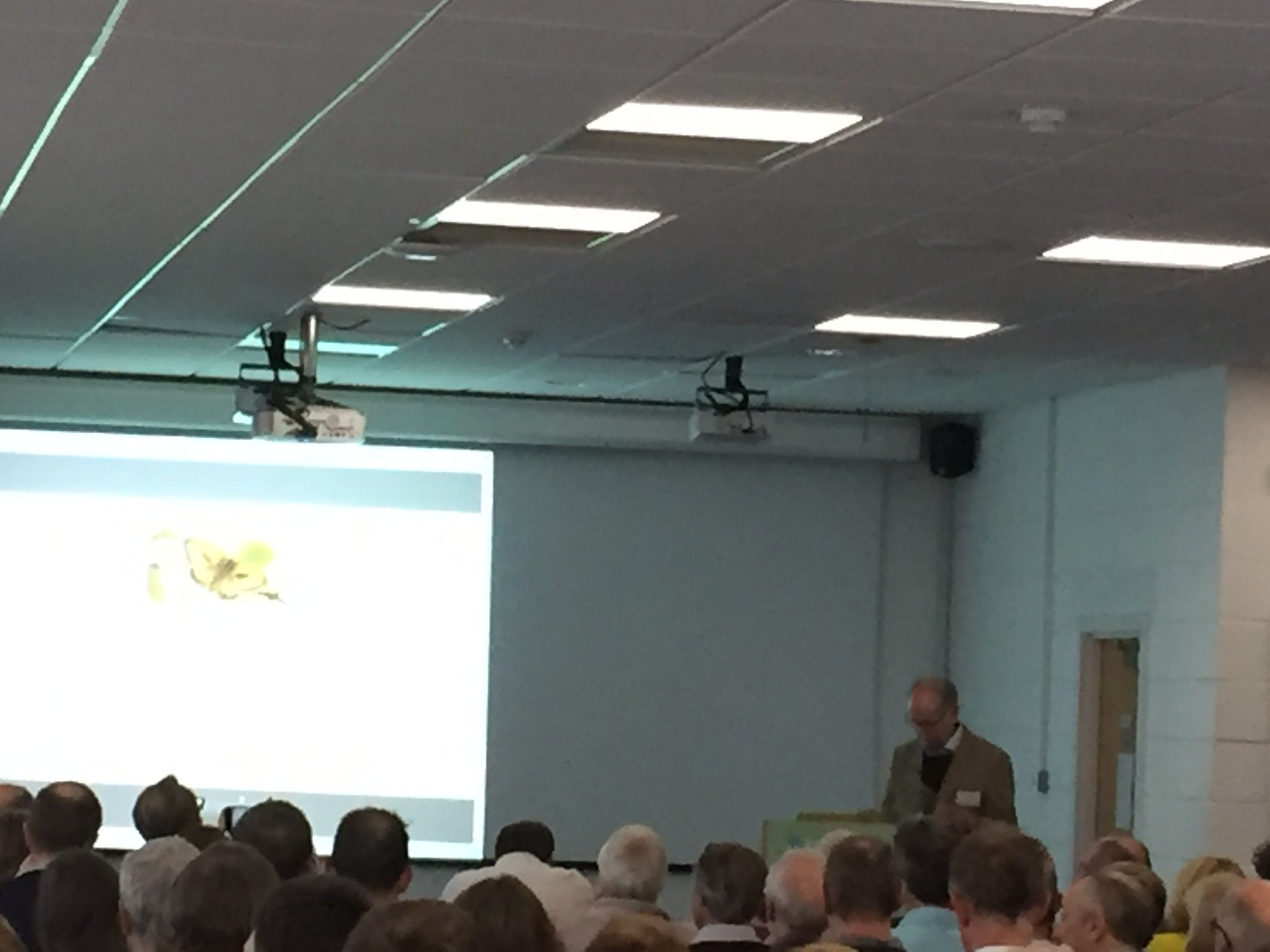 Such a privilege to hear the inspiring Ernie Pollard about the first steps in butterfly transfer walking @CEHScienceNews https://t.co/ARsr2lhl1o