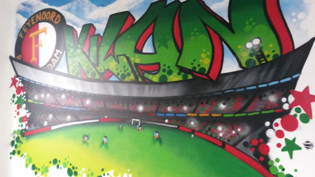 Graffiti Slaapkamer Muur : Graffiti almere surfing art