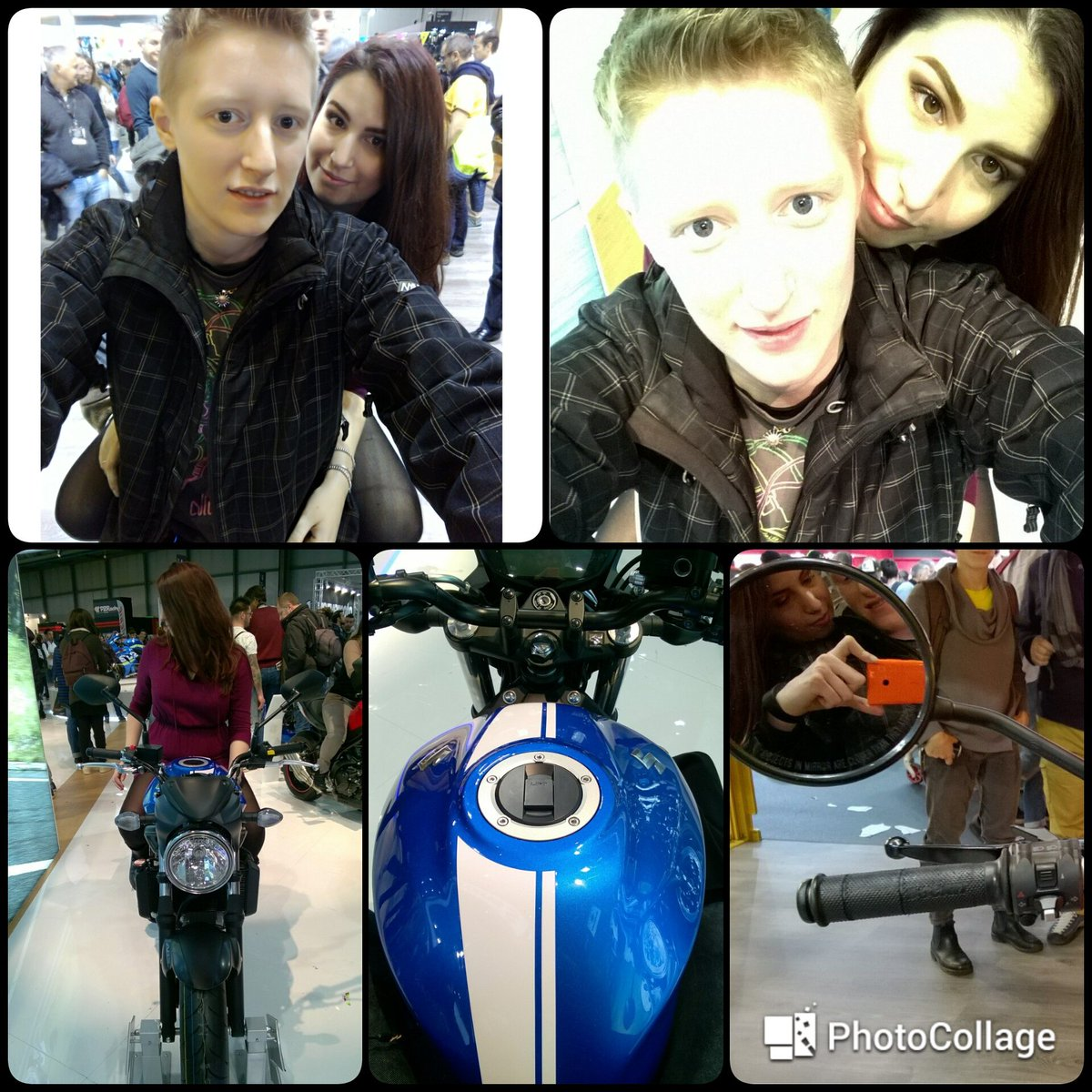Eicma2016  #EICMA2016 @official_eicma #EICMA #EICMAgirls #donneinsella #iloveyou #monamour #couplelove  I love you, to the moon and backpic.twitter.com/lLG96HlDL7
