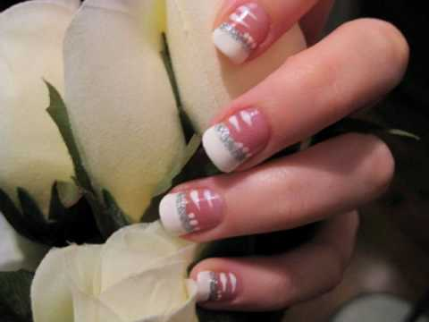 Easy Bride Wedding Nails CutePolish Beauty Nails -
