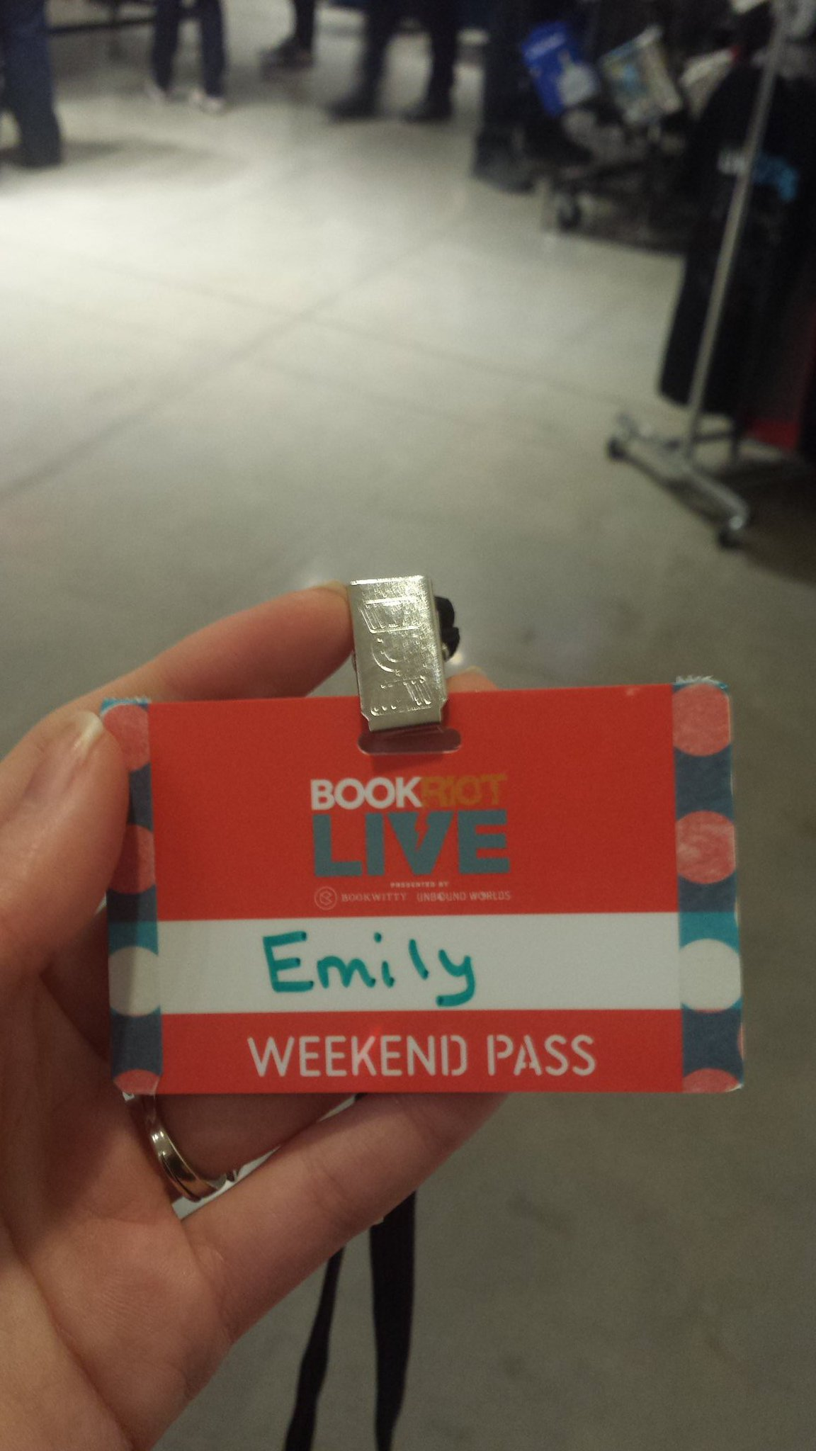 #BRLive has a washi tape station for name badges https://t.co/Dt5duWA9Vb