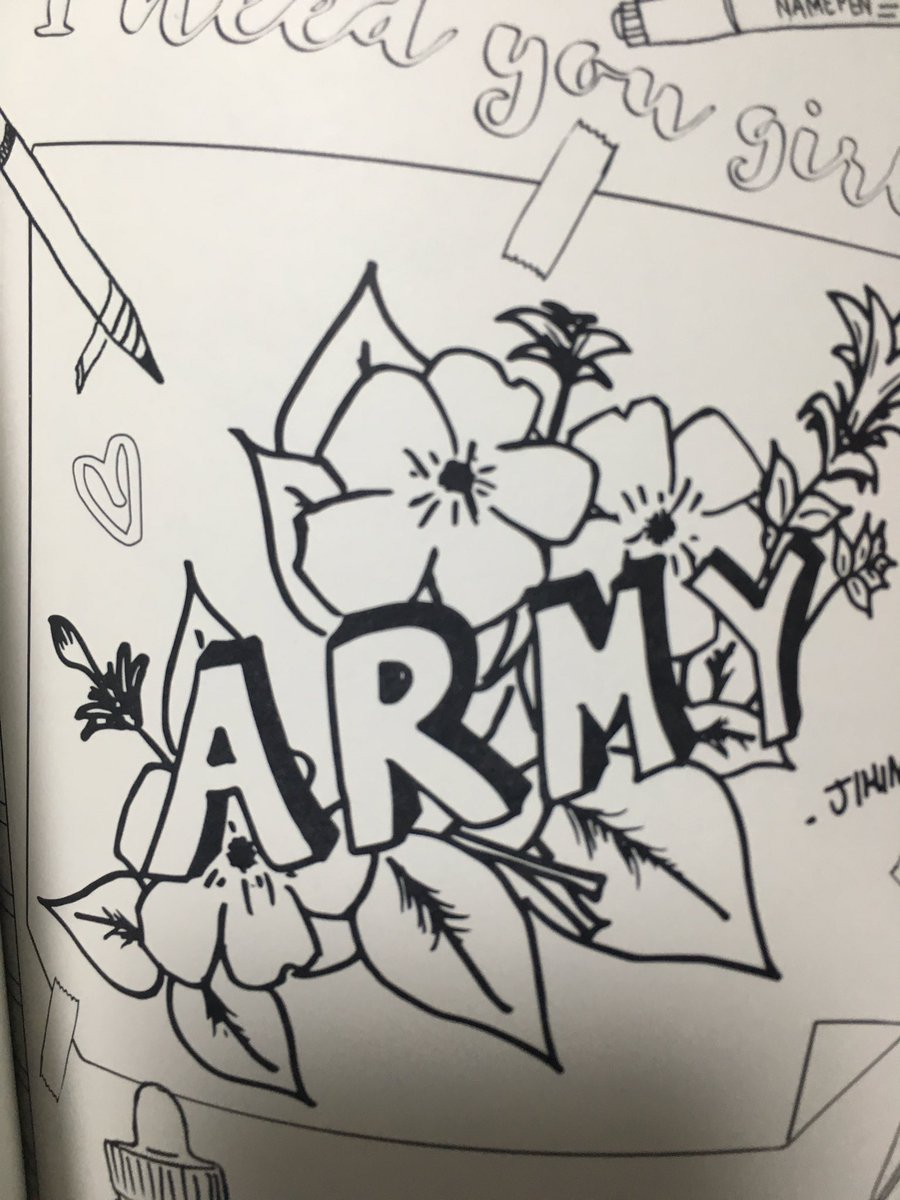 STAND BY BTS On Twitter Coloring Book Muster Goods JUNGKOOK JIMIN CJY JIN92 Tco Sejhbg2fV4