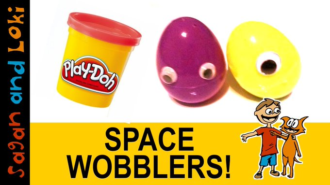 DIY Weebles | Easy Playdoh Wobbles Craft Tutorial