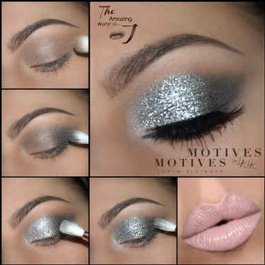 Baby you're a star with this holiday eyes look Details here makeup bbloggers