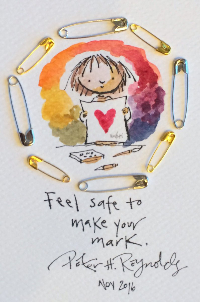 Feel safe to make your mark. #safetypin #kidlitsafetypins https://t.co/fguiAHNI1d