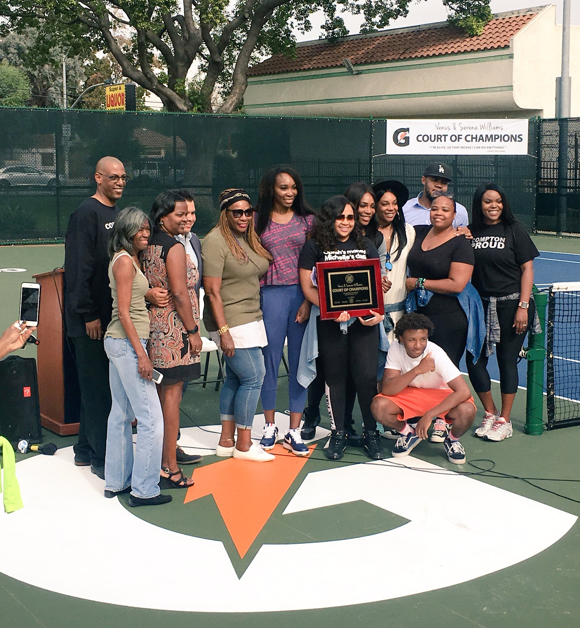 Grateful for @Gatorade 's support of the Williams Sisters Fund and our #HealthCompton Day https://t.co/XtPulpaI0y
