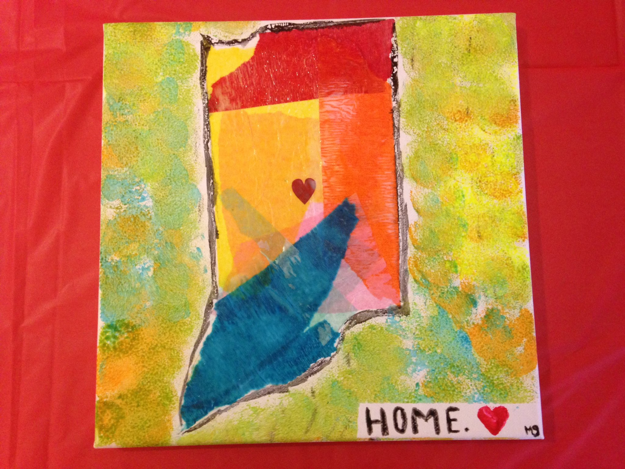 Audience art inspired by home from our Refugees Welcome event. #SPIndy https://t.co/2hXesuvL8a