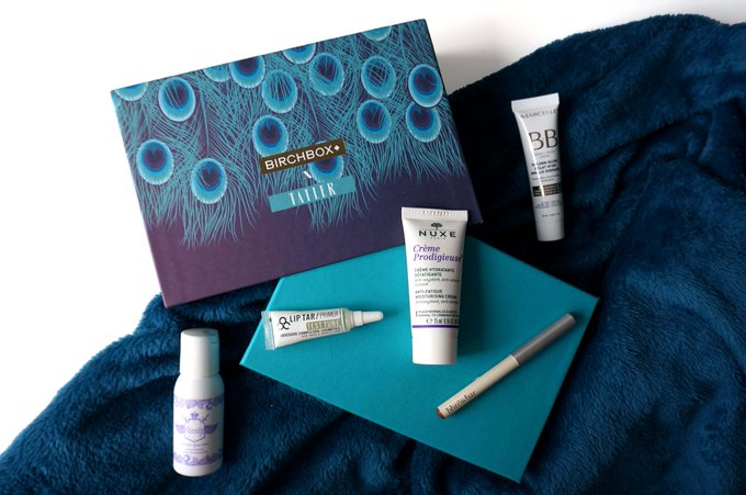 This month's birchbox is a collab with tatler magazine! bbloggers FemaleBloggerRT