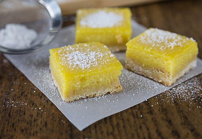Creamy Mango Lime Bars