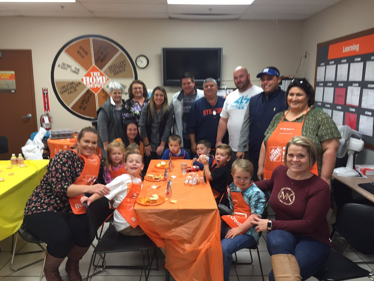 Tyler Birthday Party At The Home Depot 3638 Made His Wish Come True Future Shopper Or Managerpictwitter KHUCCMubWN
