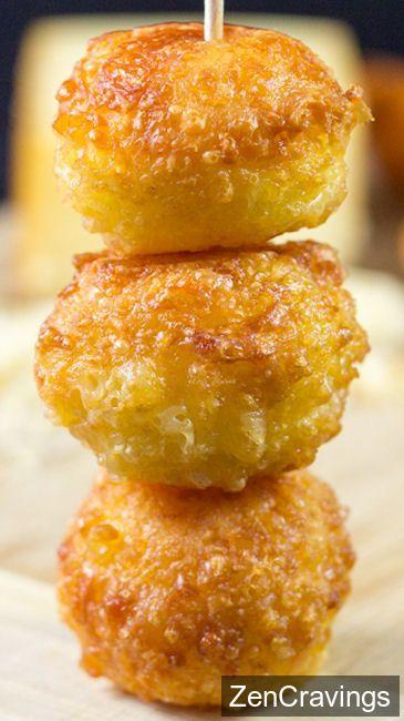5-Ingredient Mini Cheese Balls - ://