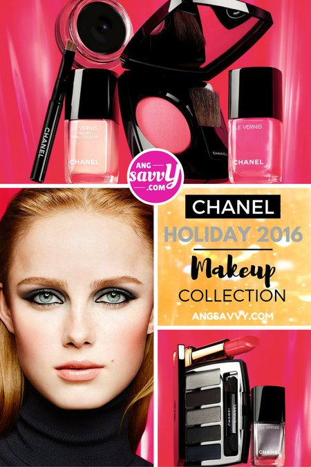 Chanel Holiday 2016 Makeup Collection angsavvy makeup beautyreview