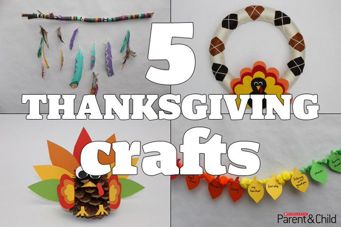 Decorate for TurkeyDay with these cute crafts!