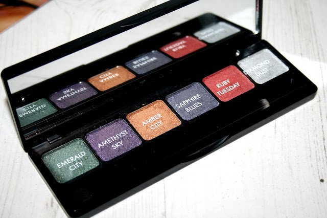 New from SleekMakeUP the Sleekrockstars collection bbloggers FemaleBloggerRT makeup