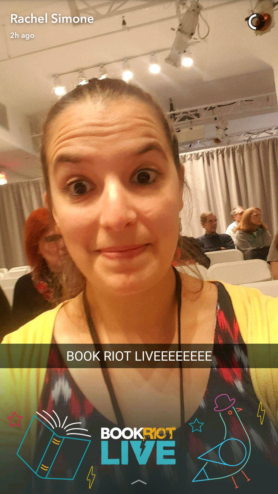 Oh yeah Snapchat filter! Legit. #BRLiveBingo #BRlive https://t.co/FShYZas2Sv