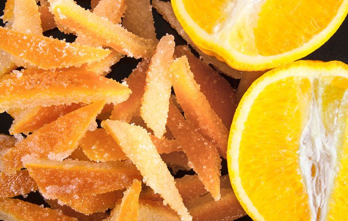 How To Make Candied Citrus Peels DIY sustainableliving