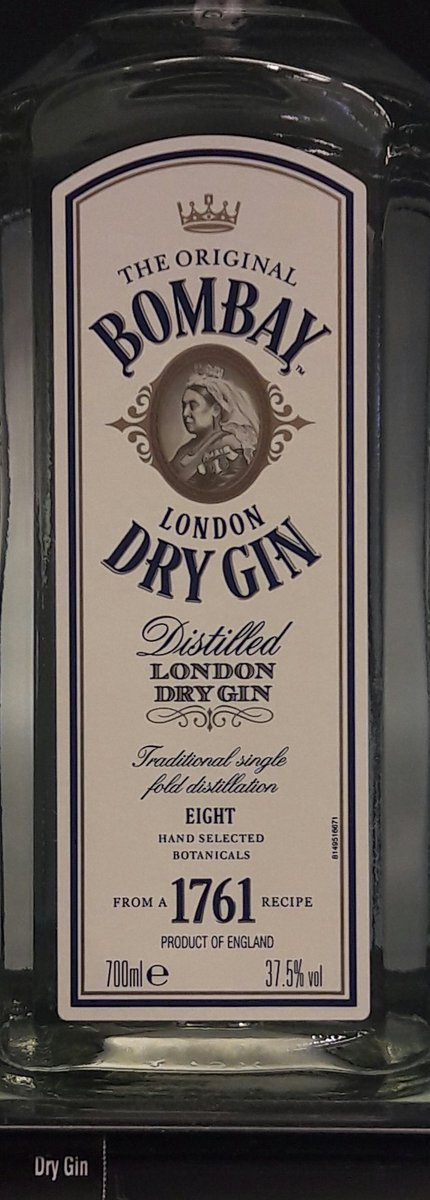 Mensen die het kunnen weten zeggen dat dit de beste gin is voor sloegin.