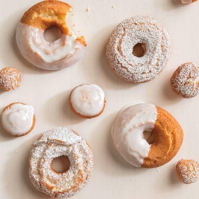 Recipe> Egg>Lemon and Vanilla Bean Doughnuts:This is the ://