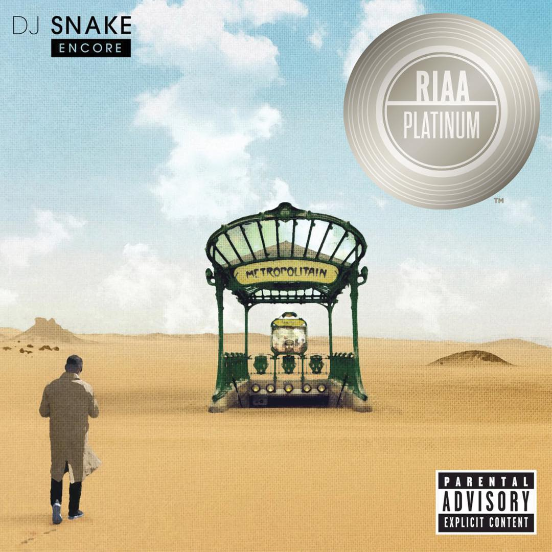 Congrats to @djsnake! #LetMeLoveYou is certified platinum. https://t.co/YcfCTDpjvQ