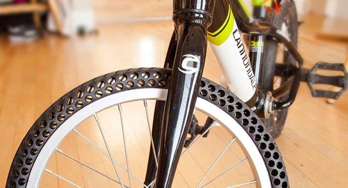 Ruote per Bicicletta con gomme invincibili che non si forano mai -VIDEO.