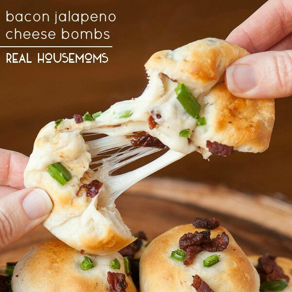 Bacon Jalapeno Cheese Bombs from RealHousemoms ://