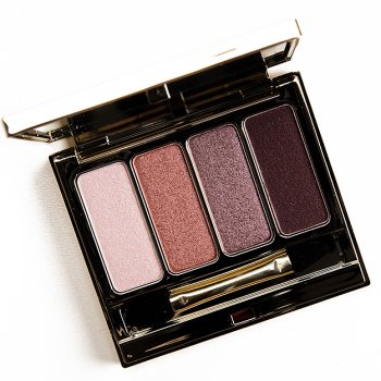 CLARINS ROSEWOOD (02) 4-COLOUR EYESHADOW PALETTE: bbloggers makeup beauty clarins