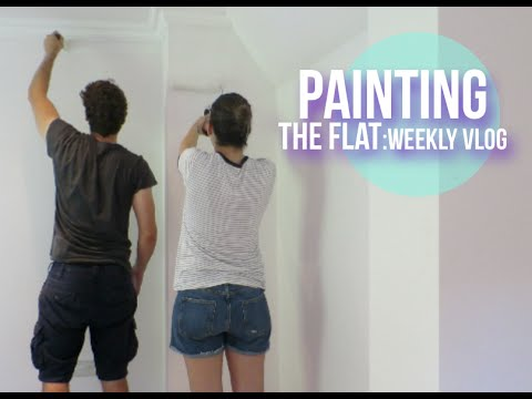 Painting The Flat | Lily Pebbles Weekly Vlog LilyPebbles LoveYa MakeUp Beauty -