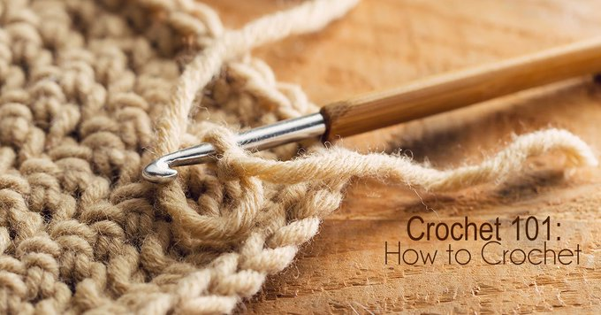 How to crochet: Crochet 101 crochet DIY crafts