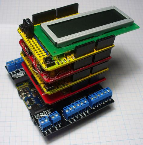 Learn how to stack Arduino shields! Arduino DIY Automation STEM Electronics