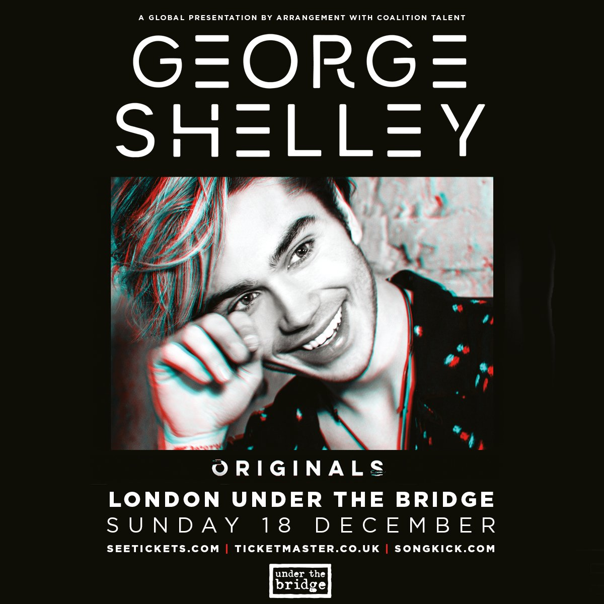 JUST ANNOUNCED @higeorgeshelley  Sunday 18th December  Tix on sale MON 14 NOV 9am -->> https://t.co/r79OdFm4gr https://t.co/f1w3rFEg75