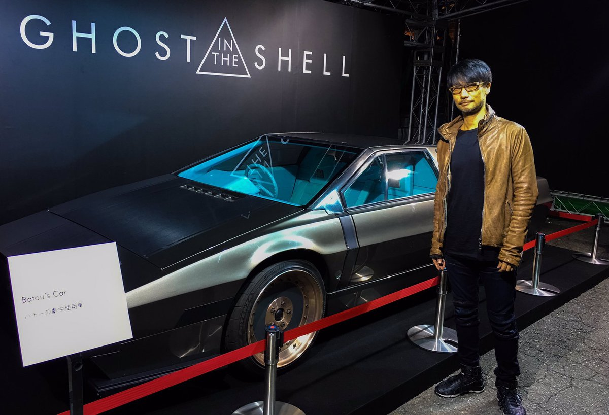Hideo Kojima On Twitter I Came To Ghost In The Shell Event Not The Neon Demon Photo With Avi San Gitstokyo