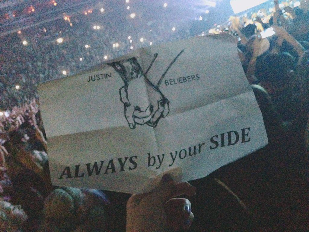 Always and forever @justinbieber #PurposeWorldTourPrague https://t.co/LQLlZOU2wz