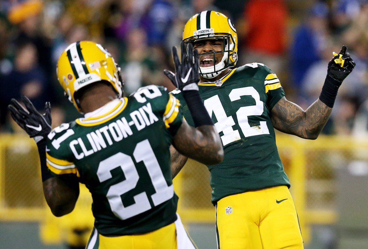 "Ha Ha Clinton Dix on Twitter "" GameDay I Know my brother ready"
