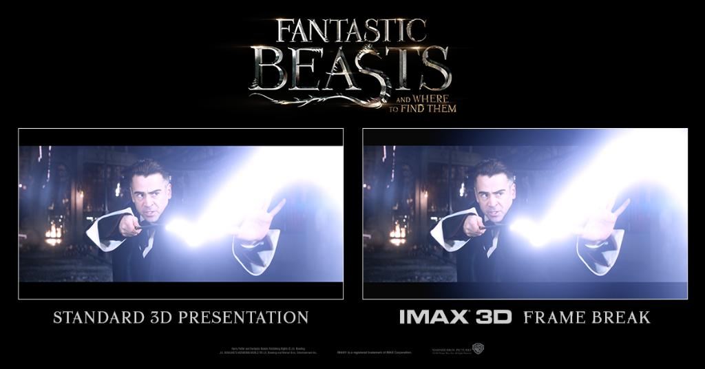 256fe70122 #FantasticBeasts is too magical to contain. See it break the frame  exclusively in IMAX 3D! Opens Thursday night: http://spr.ly/60108Gkc2 pic. twitter.com/ ...