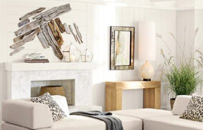 Decorating with driftwood and old aged woodDIY recycling