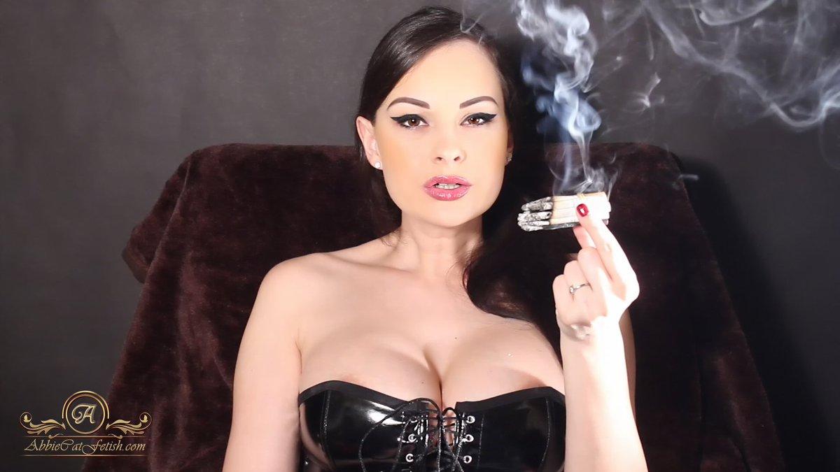 Smoking Fetish Snap Inhale