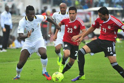 Pharaohs of Egypt on Sunday whipped Black Stars of Ghana 2-0 in the African zone 2018 World Cup qualifiers. Ghana are stuck to 3rd after losing to Egypt