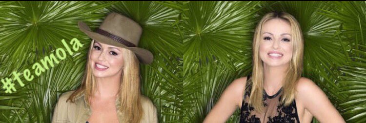 If you are going to be #TeamOla this year on @imacelebrity  Please RT and Follow to get her more support